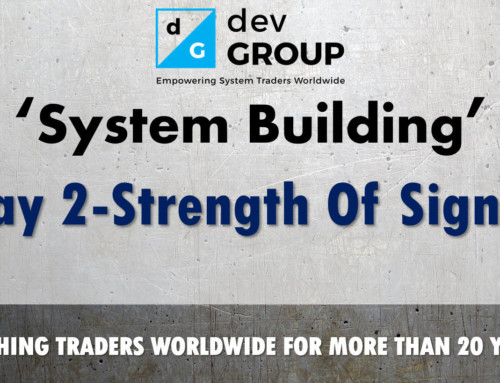 Intro To Building A Trading System – Day2 SOS Model