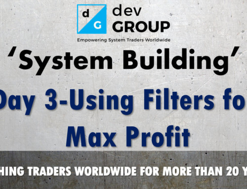 Intro To Building A Trading System – Day 3 – SR Specialist and DSR