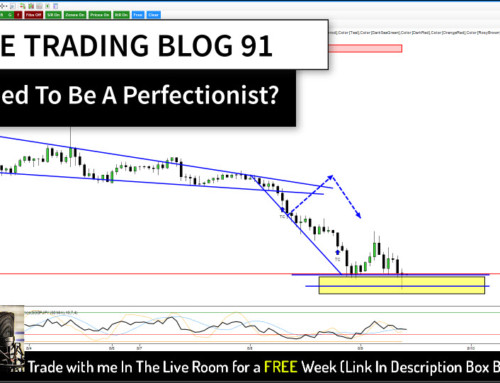 The Trading Blog 91 – Do I Have To Be A Perfectionist?